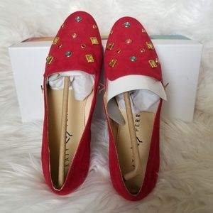 Katy Perry Suede Flat Shoes 7.5